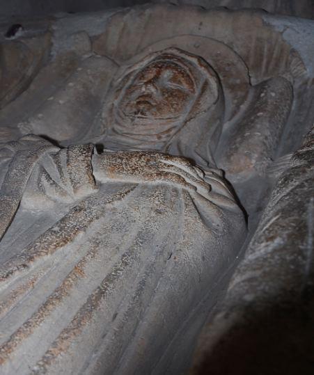 Sarkophag der hl. Martha
