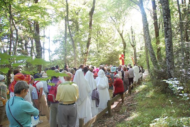 Prozession Sainte Baume